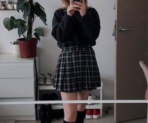 outfit, school girl, and ootd image