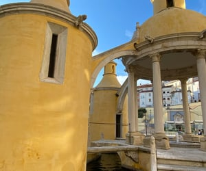 architecture, travel, and yellow image