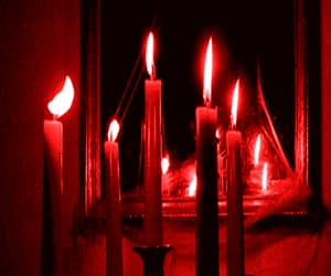 candles, red, and theme image