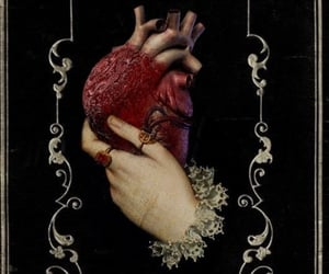 heart in hand, dark academia, and robin isely image