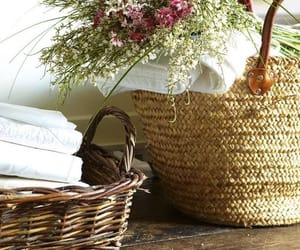 wicker baskets image
