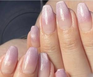 aesthetic, kawaii, and gel nail image