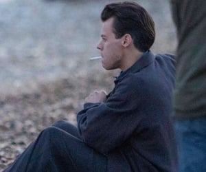 cigarette, Harry Styles, and movie image