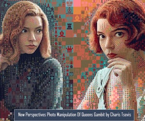 graphic design, photo collage, and photo manipulation image