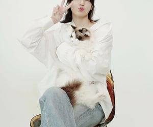 girl, cat's, and lalisa image