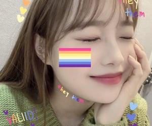 lesbian, webcore, and chuu image
