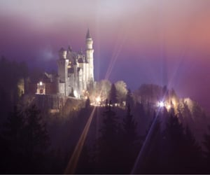 castle, germany, and dreamy image