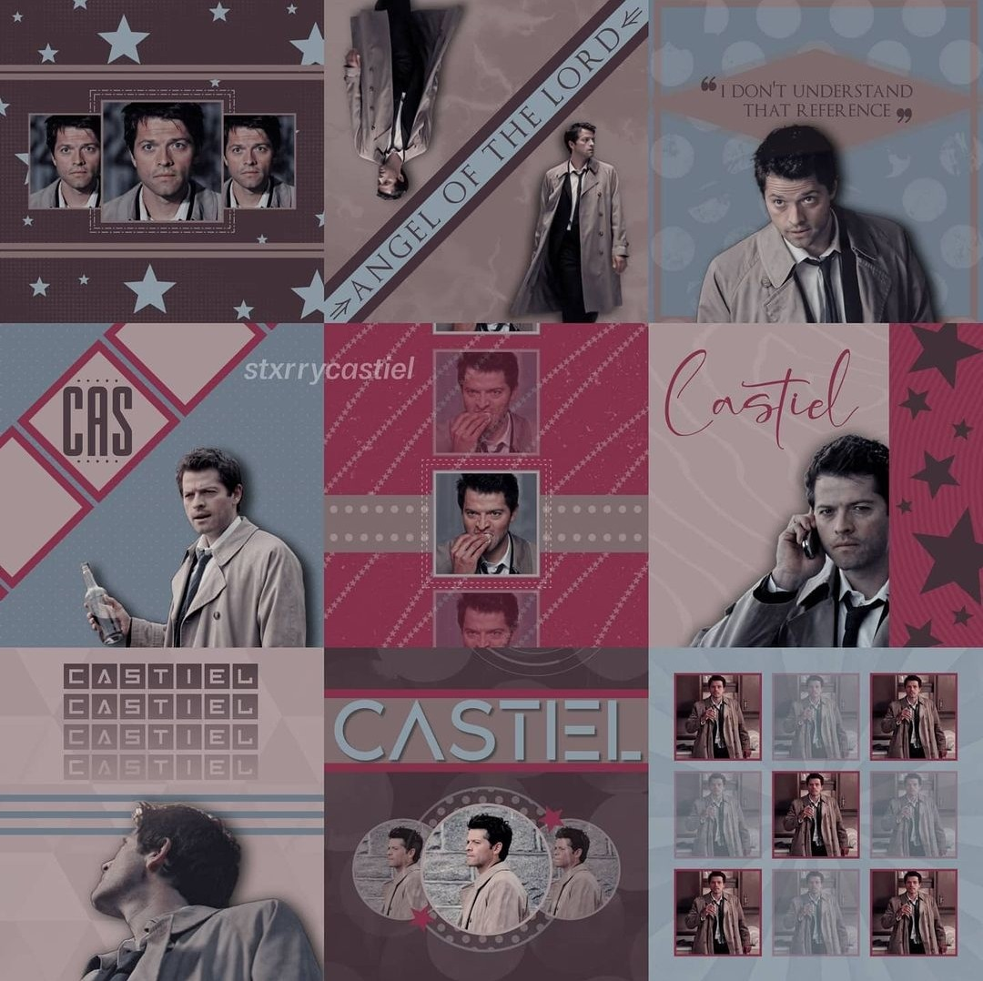 aesthetic, character, and spn image