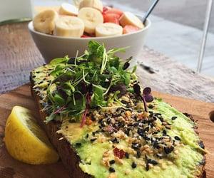 fitness, food, and avocado image