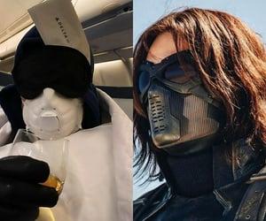 mask, mood, and sebastian stan image