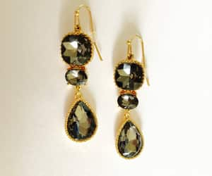 vintage jewelry, pierced earrings, and vintage costume jewelry image