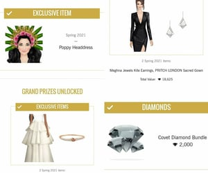 prizes and covet fashion image