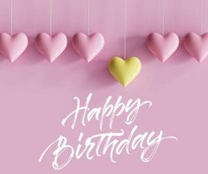 b-day, birthday, and happy birthday image