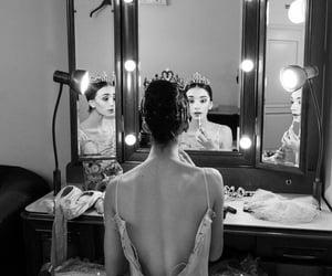 ballerina, makeup, and ballet image