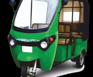 article, e-rickshaw, and e car image