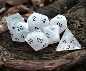 stone dice sets and 6 sided dice image
