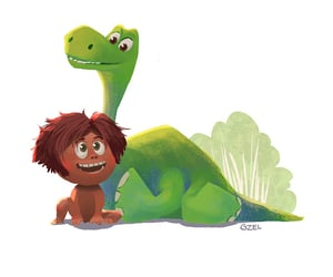 disney, the good dinosaur, and pixar image