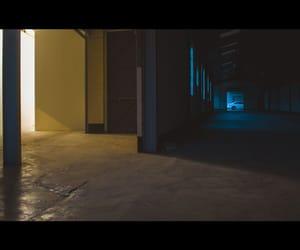 corridor, indoors, and floor image