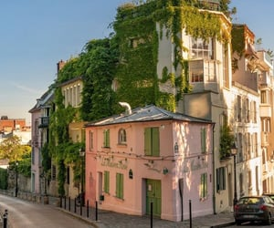 architecture, buildings, and montmartre image
