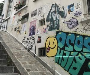 art, montmartre, and parisian image