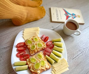 breakfast, chill, and colorful image