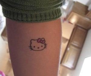 childhood, girls, and hello kitty image