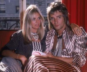 britt ekland, couple, and music image