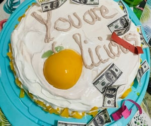 birthday cake, friendship goals, and birthday girl image