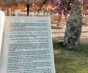 beach, book, and islam image