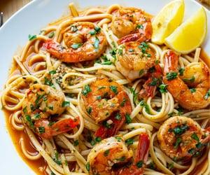 pasta, spaghetti, and yummy image