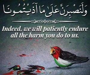 arabic calligraphy, pain, and islam quotes image