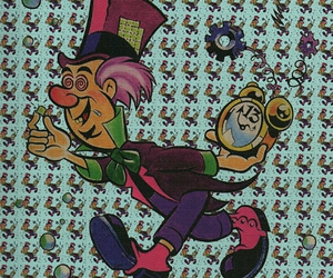 lsd, mad hatter, and alice in wonderland image