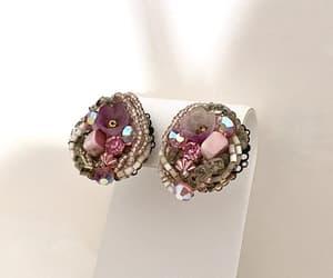 etsy, rhinestones, and vintage jewelry image