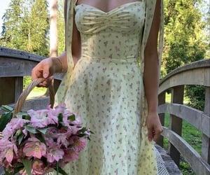 basket, bridge, and cottage image