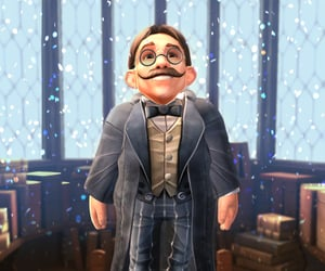 flitwick and harry potter image