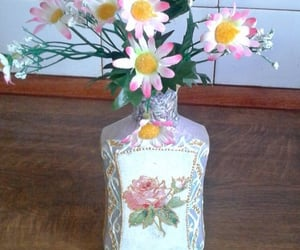 flower vase, gift for her, and one of a kind gift image
