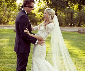 wedding, dress, and adorable image