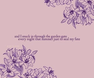 aesthetic, lover, and Lyrics image