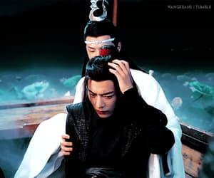gif, lan wangji, and mo dao zu shi image