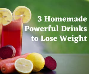 detox drinks, weight loss drinks, and drinks to burn fat image