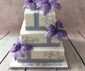 lilac, lilly, and traditional image
