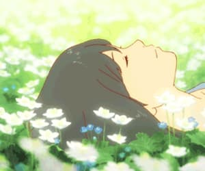 anime, meadow, and summer image