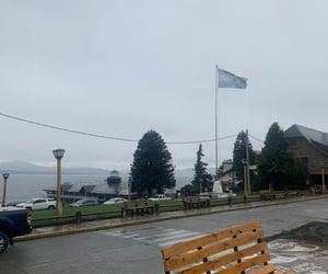 centro, nublado, and lago image