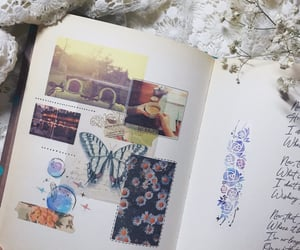 aesthetic, writing, and doodling image