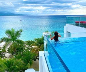clear waters, jamaica, and vacation image