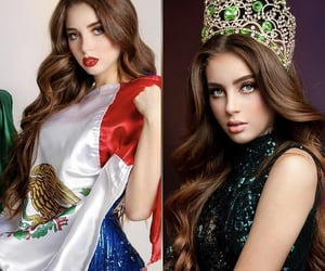 beauty, girl, and miss mexico image