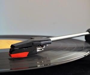 music, vinil, and vintage image