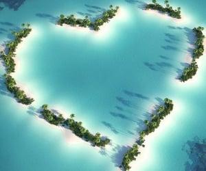 deniz, ada, and mavi image