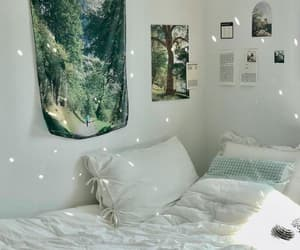 bedroom, design, and forest image