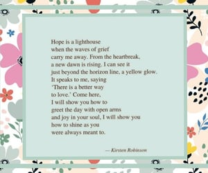 grief, heartbreak, and lighthouse image